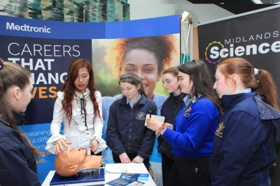 Students Explore the World of Engineering, Gaming and Space Flight at Athlone IT