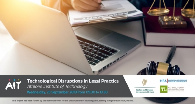 Seminar: How is Technology Disrupting Irish Legal Practice?