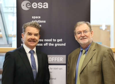 ESA Space Solutions Centre Ireland stakeholders meet at AIT