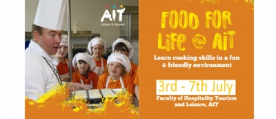 Food for Life - AIT Cookery Camp   3rd - 7th July