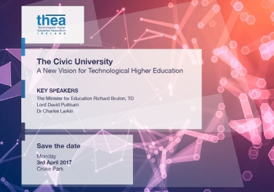 THEA Launch - The Civic University - A New Vision for Technological Higher Education