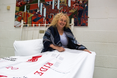 In bed with James Joyce: Graphic Design Student Receives Prestigious International Award