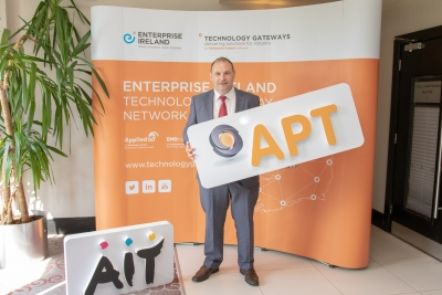 €3.5 million in funding announced for two AIT Enterprise Ireland Gateways – Applied Polymer Technologies ( APT) & COMAND