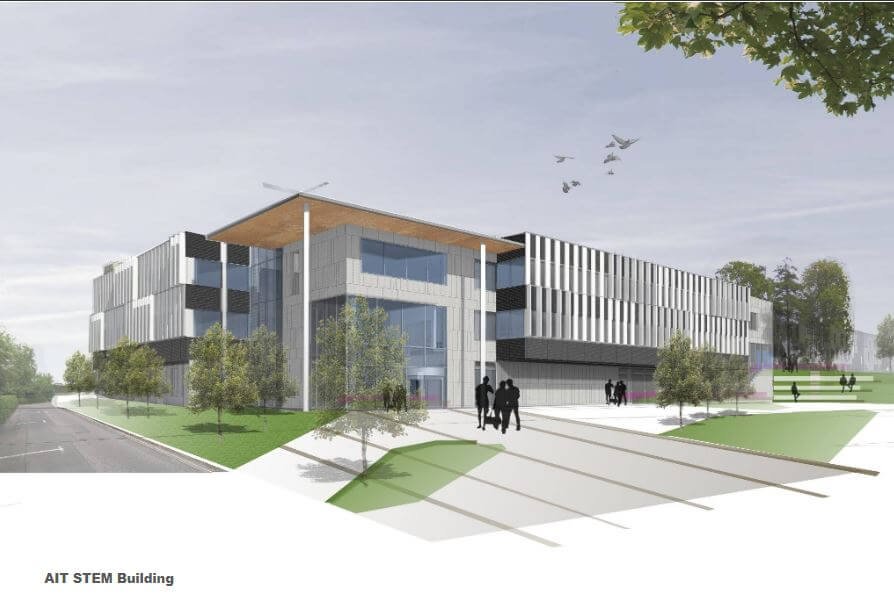 New STEM Building in the Faculty of Science and Health to open in 2024