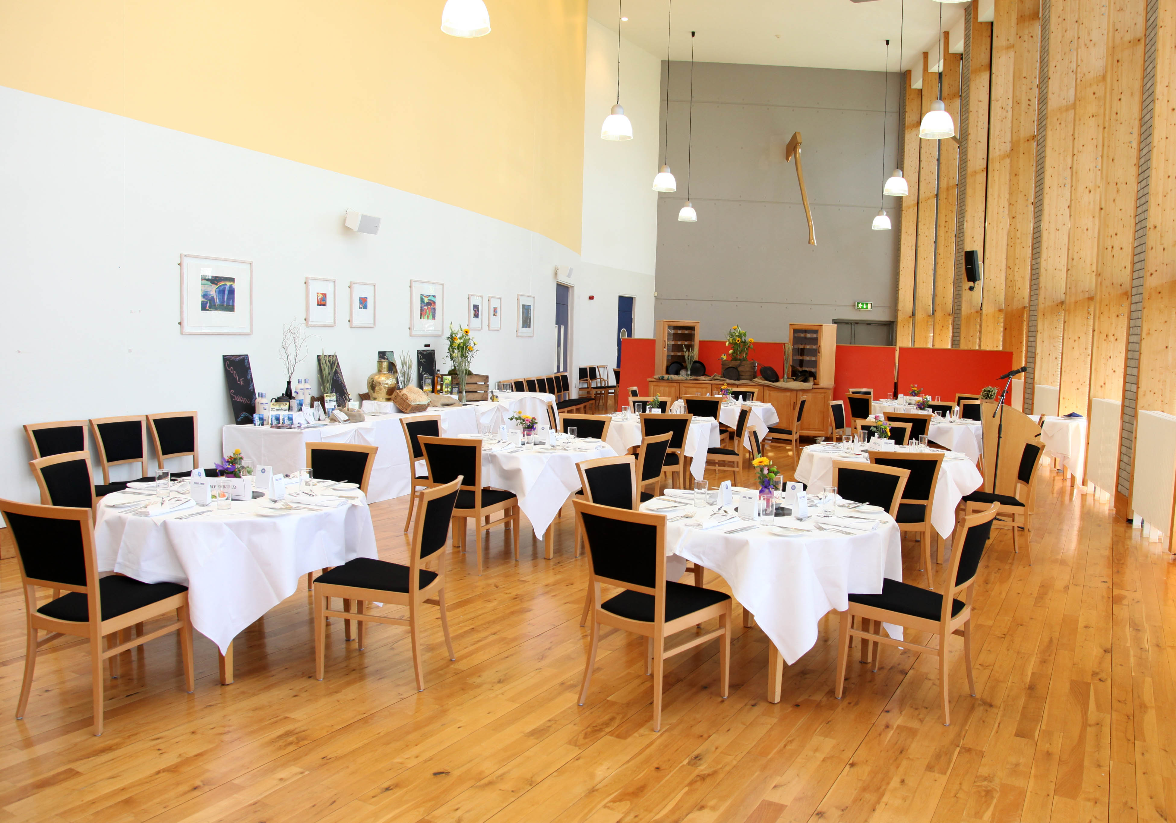 Training Restaurant in the Hospitality Building